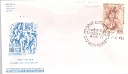 INDIA ANNIVERSARY BOMBAY UNESCO COVER  (MAGG19113) - UNESCO