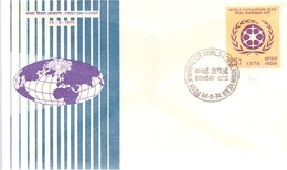 INDIA ANNIVERSARY BOMBAY UNESCO COVER  (MAGG19114) - UNESCO