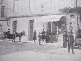 """33 - GALGON - """" ENTREE DU BOURG - CAFE , JOLI ATTELAGE..."""" - - Autres Communes"""