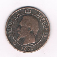 10 CENTIMES 1855 BB FRANKRIJK /4391/ - France