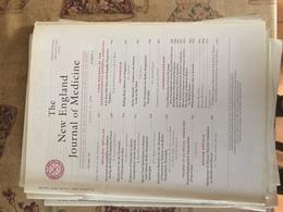 THE NEW ENGLAND JOURNAL OF MEDICINE - Libri, Riviste, Fumetti