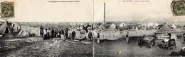 CAMPAGNE DU MAROC 1907-08 -  209  3  - Ber Rechid- Intérieur De La Casbah. 1908. CARTE DOUBLE. - Autres
