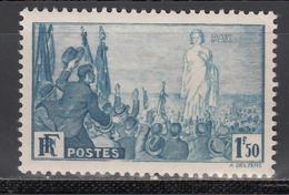 1936 Yvert Nº 328  MNH - Francia
