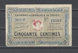 Chambre De Commerce De TROYES  Billet De 50c - Chamber Of Commerce