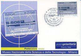 ITALIA - FDC MAXIMUM CARD 2005 - SOMMERGIBILE TOTI - ANNULLO SPECIALE - Maximumkarten (MC)