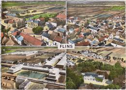 CPSM   En Avion Au Dessus De...FLINS - Flins Sur Seine