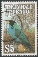 Trinidad & Tobago. 1990 Birds. $5 Used. SG 844 - Trinidad & Tobago (1962-...)