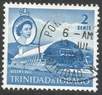 Trinidad & Tobago. 1960-67 QEII. 2c Used. SG 285 - Trinidad & Tobago (...-1961)