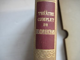 Théatre Complet De BEAUMARCHAIS Texte Étabis Et Annoté Par René D'Hermies  402 Pages 1952 TBE Voir - Books, Magazines, Comics