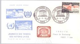 FRANCE UNESCO  PALAIS 1959 COVER PARIS  (MAGG19122) - UNESCO