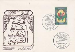 Algérie FDC 1990 Yvert  982 Union Maghreb Arabe - Algeria (1962-...)