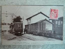 SAINT ANDRE DE CUBZAC   LA GARE DU TRAMWAY LIBOURNAIS - France