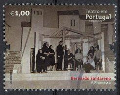 Portugal 2011 Oblitéré Used Théâtre Pièce La Promesse De Bernardo Santareno SU - 1910-... République