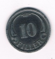 10 FILLER 1942  HONGARIJE /4300/ - Hongrie