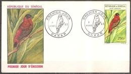 Enveloppe Senegal - 1er Jour Franciscain Le 09/03/1963 (bon Etat) - Senegal (1960-...)
