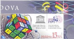 2019. Moldova, UNESCO, International Year Of The Periodic Table Of Chimical Elements, 1v, Mint/** - Moldova