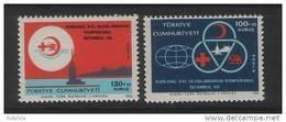 1969 TURKEY THE 21ST INTERNATIONAL REDCROSS CONFERENCE MNH ** - 1921-... République