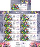 2019. Moldova, UNESCO, International Year Of The Periodic Table Of Chimical Elements, 1v + Sheetlet, Mint/** - Moldova