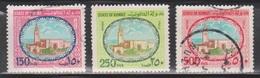 KUWAIT Scott # 864, 866-7 Used - Sief Palace - Kuwait
