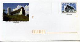 CHAPELLE DE NOTRE-DAME DU HAUT-RONCHAMP  Agrément N° 809 - Lot 42J/0507245 - Entiers Postaux