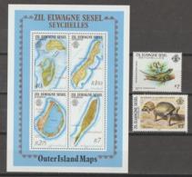 ZIL  SEYCHELLES   **   MNH  1983   YVERT   S/S  2 +NUMEROS  62+103 - Seychelles (1976-...)
