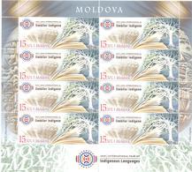 2019. Moldova, International Year Of Indigenous Languages,  Sheetlet, Mint/** - Moldova