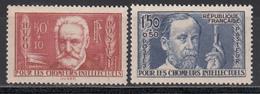 1936 Yvert Nº 332, 333, MNH - Francia