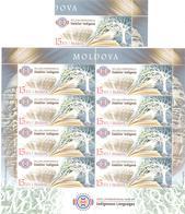 2019. Moldova, International Year Of Indigenous Languages,  1v + Sheetlet, Mint/** - Moldova