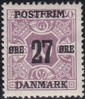 Danmark  .      Yvert   99     .      *     .        Mint-hinged   .    /   .   Ongebruikt - 1913-47 (Christian X)