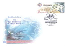2019. Moldova, International Year Of Indigenous Languages,  FDC, Mint/** - Moldova