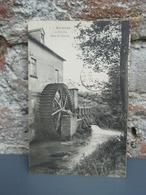 Cpa AIRAINES Un Moulin Dans Le Marais 1920 - France