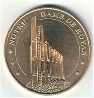 Monnaie De Paris 17 Royan - Eglise Notre Dame De Royan 2005 - Monnaie De Paris