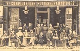 """Paris - Café Liquoriste """"Noël Cros"""", Boul. St-Martin Et 42 Rue De Bondy - Cecodi N'P 146 - France"""