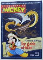 MINI ALBUM Guide Officiel CORSAIRES ET PIRATES SUPPLEMENT AU JOURNAL DE MICKEY 3361 Club Des Abonnés - Livres, BD, Revues