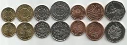Guyana 1989/2011. Set Of 7 Coins High Grade - Guyana