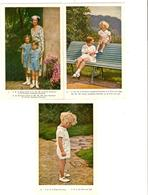 PR6506/ Entier 5 CP Illustrées 30 1 à 5 Dans Leur Pochette Initiale Reine Astrid Et Les Enfants Royaux Mint - Tarjetas Ilustradas