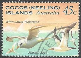 Cocos Isl. 1995 Seabirds, 45c # S.G. 323 - Michel 332 - Scott 300  USED - Cocos (Keeling) Islands