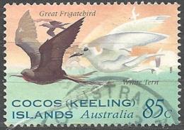 Cocos Isl. 1995 Seabirds, 85c # S.G. 324 - Michel 333 - Scott 301  USED - Cocos (Keeling) Islands