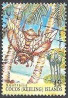 Cocos Isl. 1995 Scarab Beeetle, 45c # S.G. 329 - Michel 337 - Scott 302d  USED - Cocos (Keeling) Islands