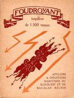 Marine Nationale : Le Foudroyant Torpilleur De 1500 Tonnes - Livres