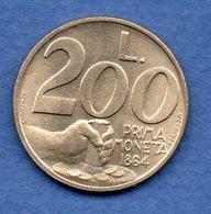 San Marin  -  200 Lires 1991  -  Km # 268 - état  SUP - Saint-Marin