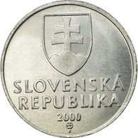 Monnaie, Slovaquie, 10 Halierov, 2000, TTB, Aluminium, KM:17 - Slovaquie