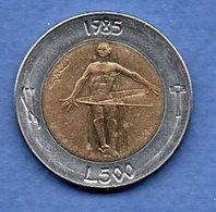 San Marin  -  500 Lires 1985  -  Km # 181 - état  SUP - Saint-Marin