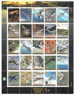 ILES MARSCHALL  1995 -  BF  -  World's Legendary Jet Fighters  - Chasseurs à Réaction  -  NEUF** - Marshallinseln