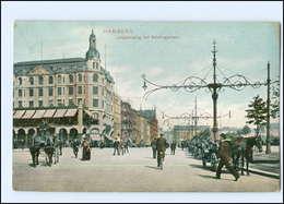 Y12484/ Hamburg Jungfernstieg Mit Neidlingerhaus 1906 AK - Mitte