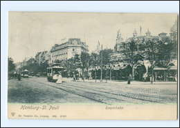 Y12483/ Hamburg St.Pauli Reeperbahn Straßenbahn 1905 AK - Mitte