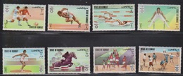 KUWAIT Scott # 549-56 MH - Munich Olympics 1972 - Kuwait