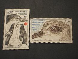 T.A.A.F. - 1979 FAUNA 2 VALORI  - NUOVI(++) - Terre Australi E Antartiche Francesi (TAAF)