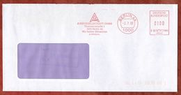 Brief, Francotyp-Postalia B66-7882, Auergesellschaft, 100 Pfg, Berlin 1993 (74119) - BRD