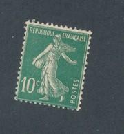 FRANCE - N°YT 159 NEUF** SANS CHARNIERE - COTE YT : 1€30 - 1921/22 - 1906-38 Semeuse Camée